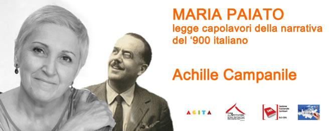 Maria Paiato legge Achille Campanile