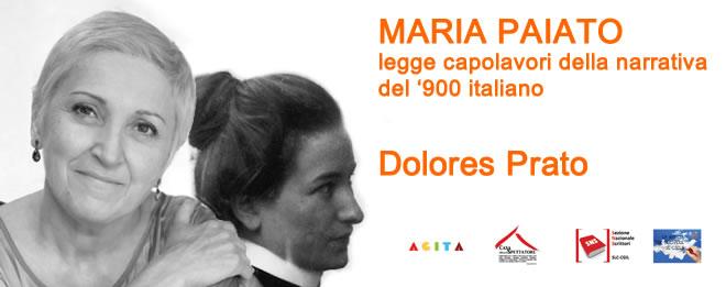 Maria Paiato legge Dolores Prato