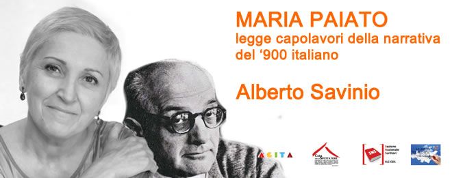 Maria Paiato legge Alberto Savinio