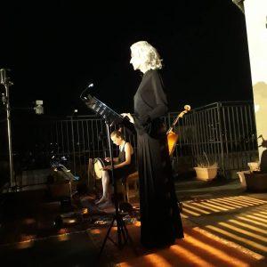 Drusilla e Claudia Bombardella nella Notte allo Ximeniano 2